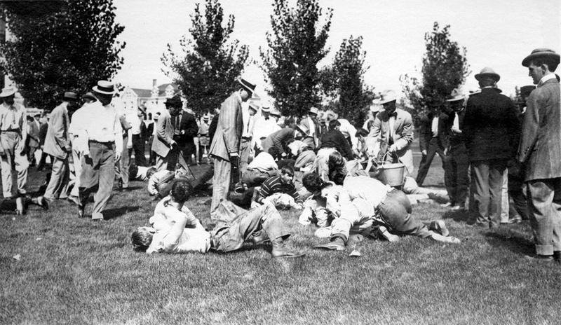 Cane rush, 1910