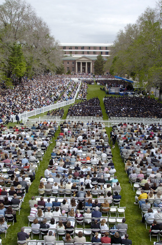 Commencement on the Quad, 2004