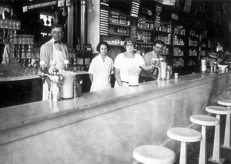 Wilson's Drug Store, 1925