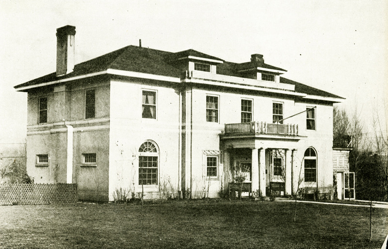 The new house, ca. 1915