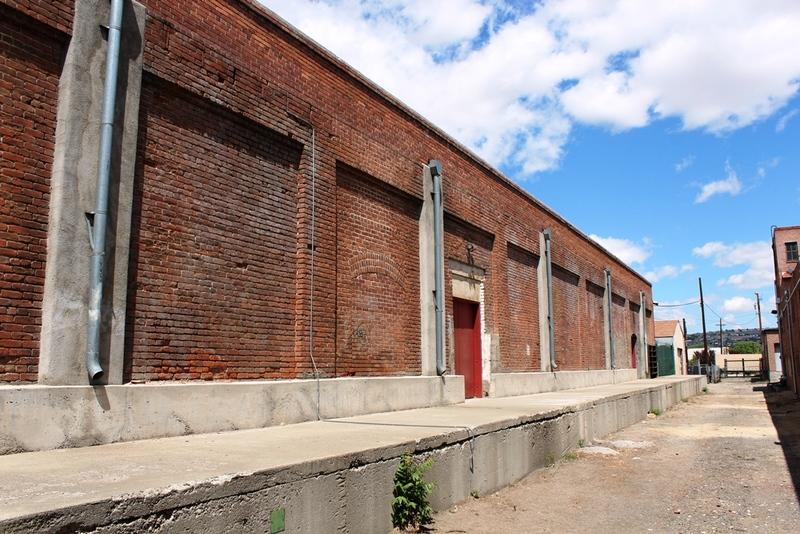 East facade, 2014