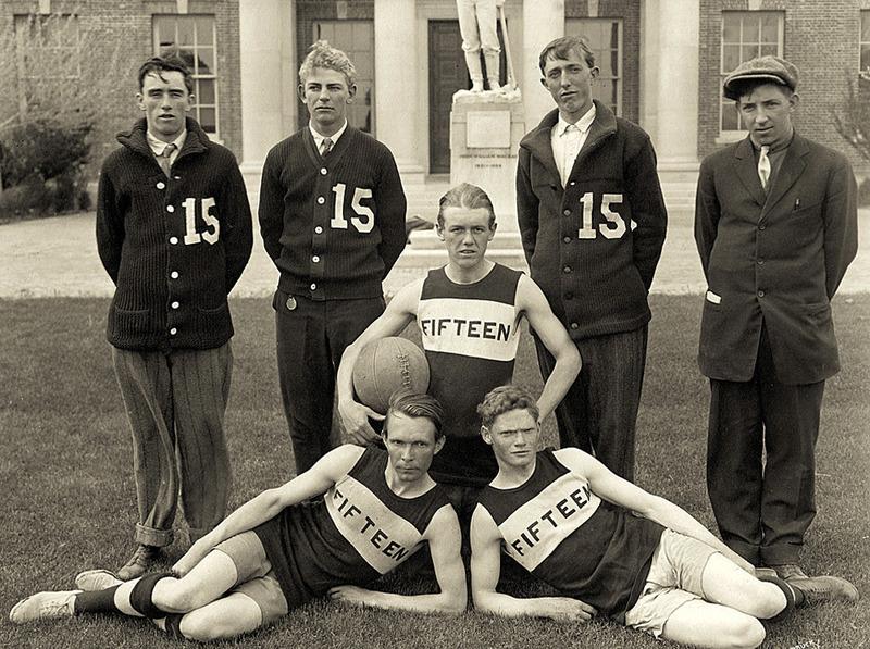 Basketball team of 1915