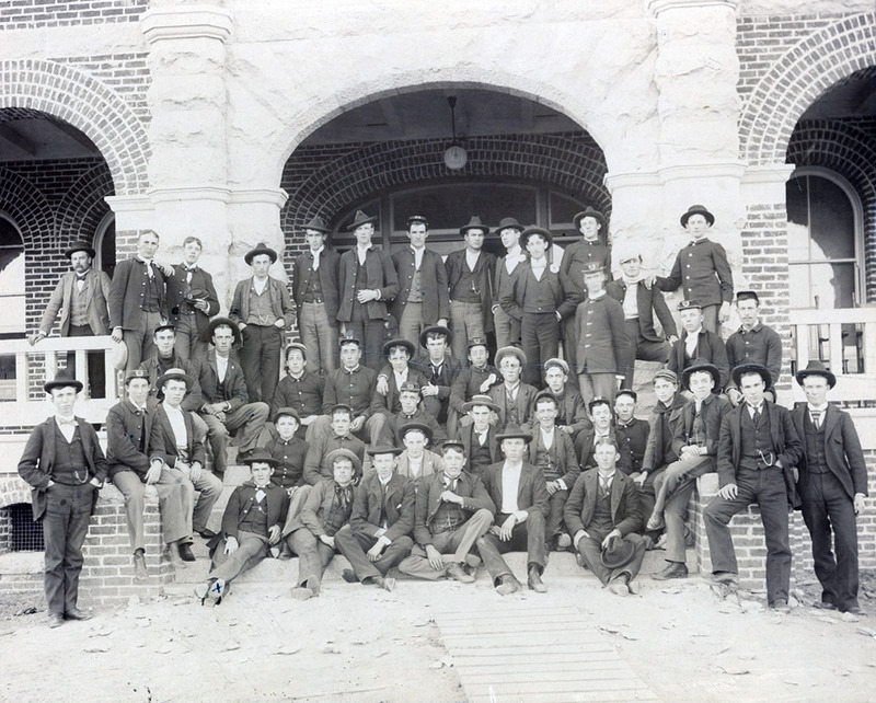 Gathering spot, ca. 1900