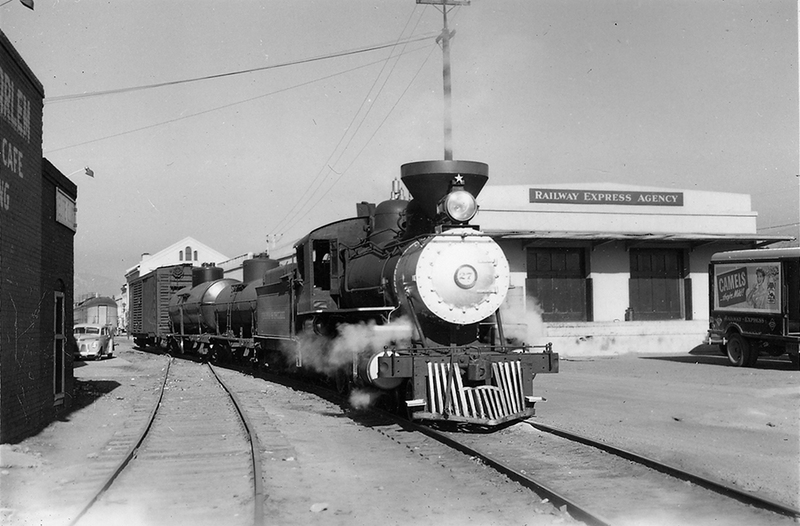 Virginia & Truckee Railway, 1950