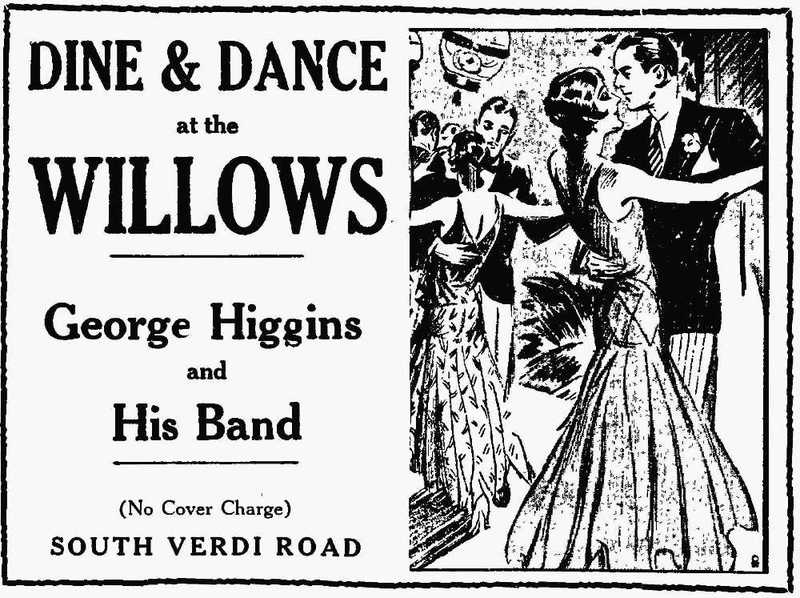 Willows ad, 1930