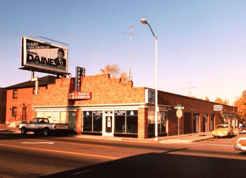 A corner landmark, 1986