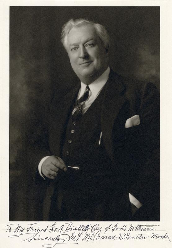 Senator McCarran, ca. 1935