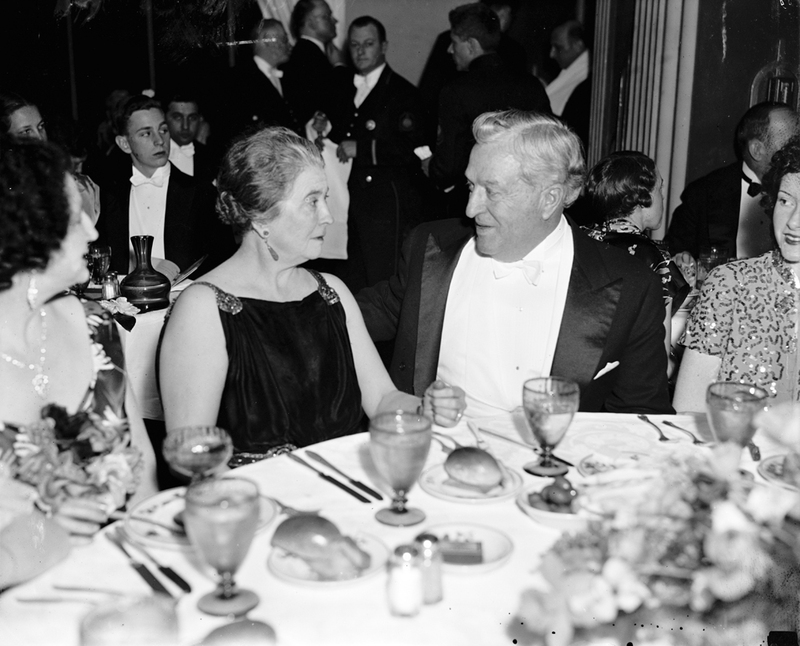 Senator McCarran and his wife, ca. 1936.