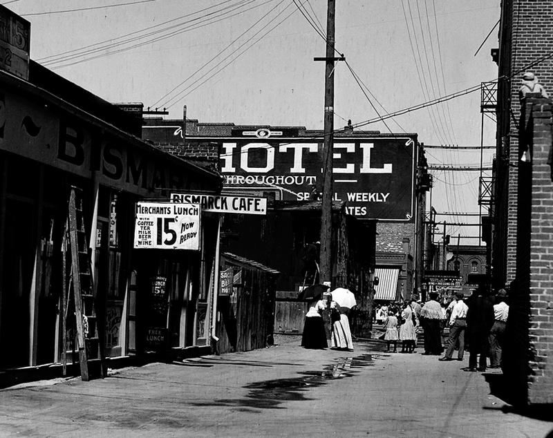 Douglas Alley ca. 1911
