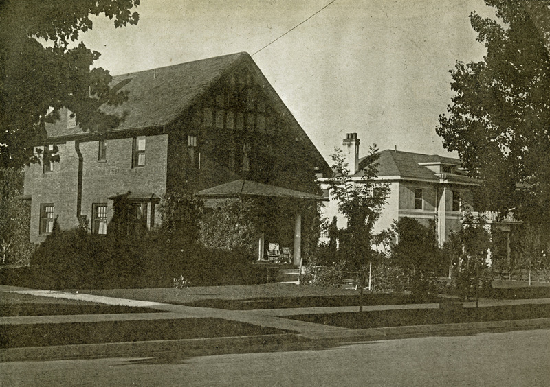 Prominent neighborhood, ca. 1925