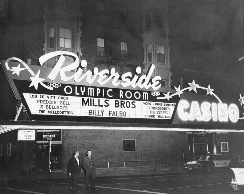 The Olympic Room in the Riverside, ca. 1960