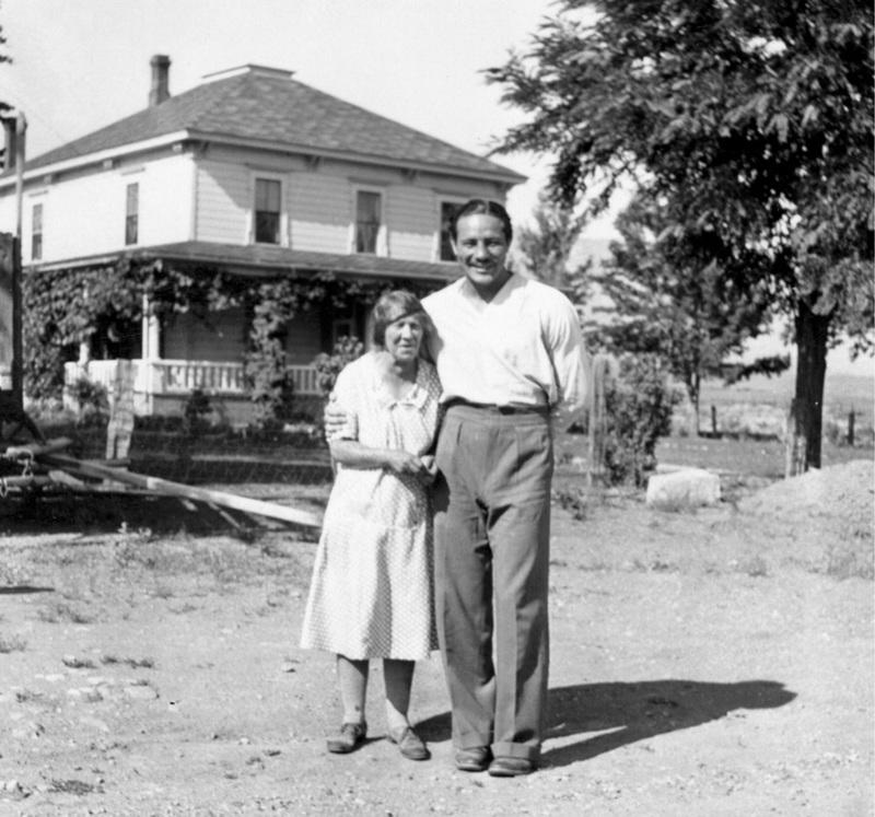 Max Baer and Crissie Caughlin