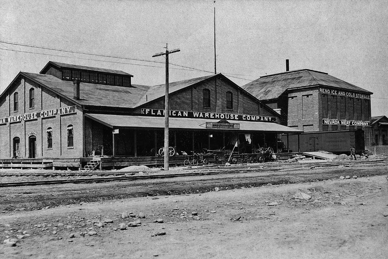 Flanigan Warehouse, ca. 1915