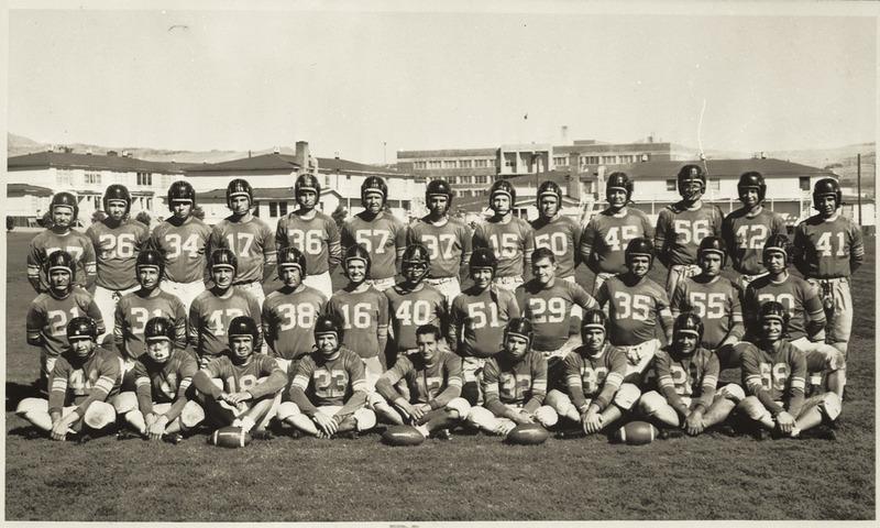 Football team, 1954