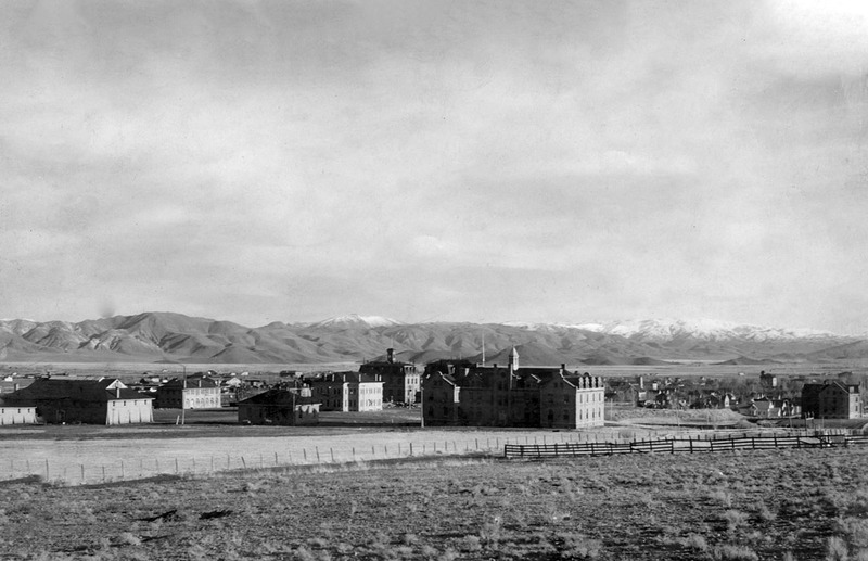 The campus in 1904