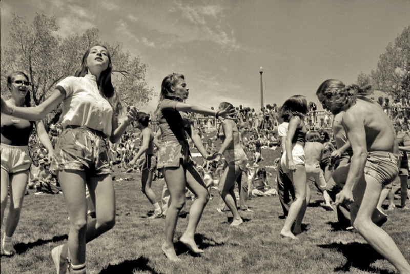 All-school picnic, 1979