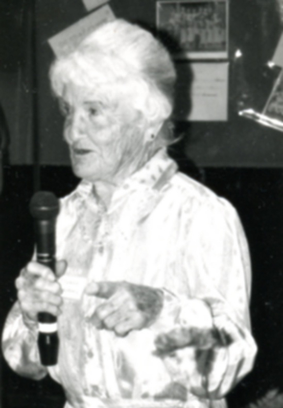 Frances Humphrey after retirement