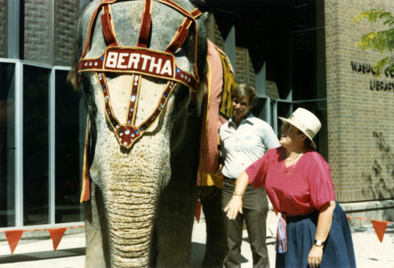 Visit from Bertha, 1986