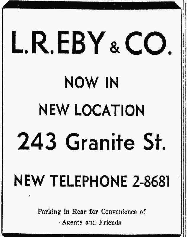 L.R. Eby & Co, 1948