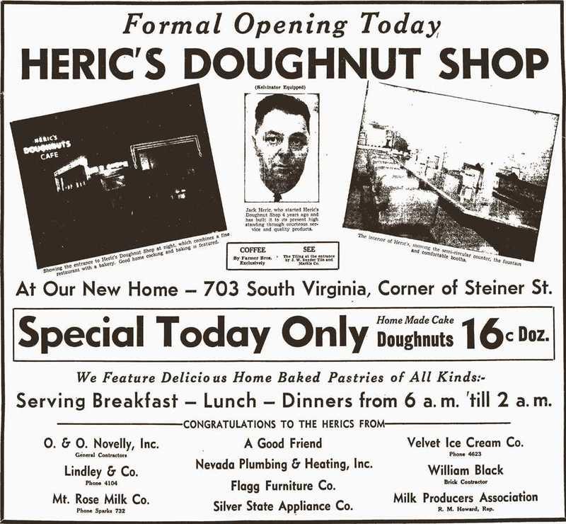 Heric's grand opening, 1941
