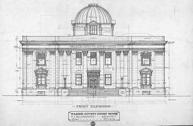 Design for a new courthouse
