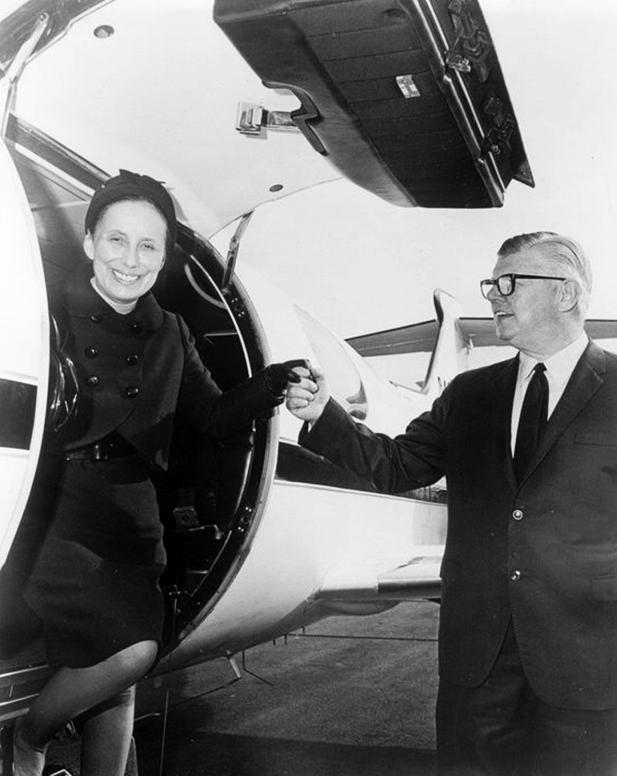 Bill and Moya Lear