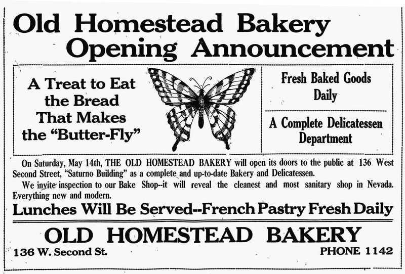 Old Homestead Bakery, 1910
