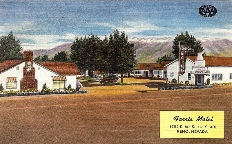 Farris Motel, ca. 1950