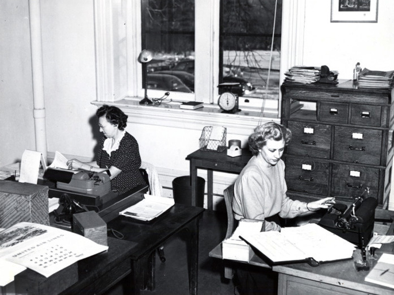 Morrill Hall office, 1932