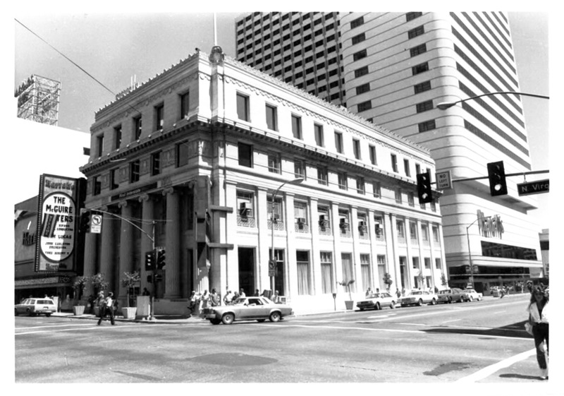 First Interstate Bank, ca. 1986