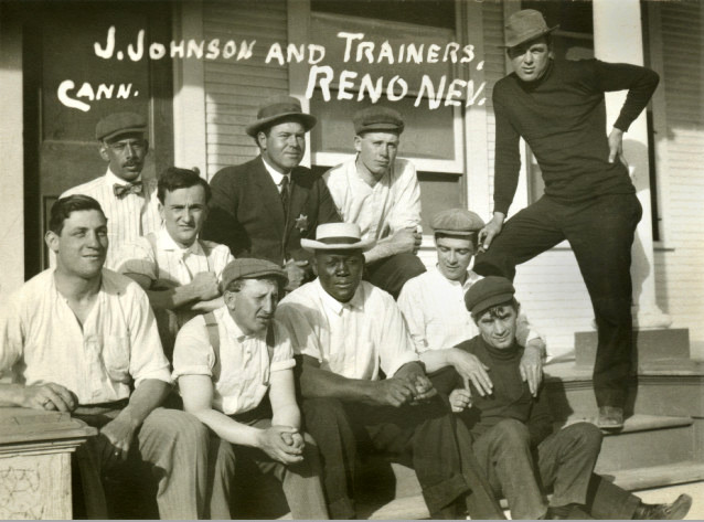 Jack Johnson and his entourage