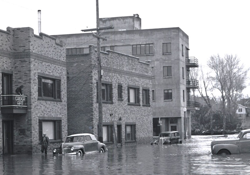 1950 flood from Roff Way