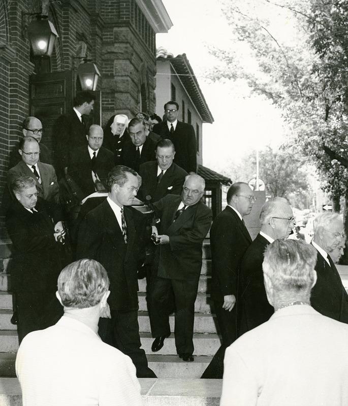 Sen. Pat McCarran's funeral