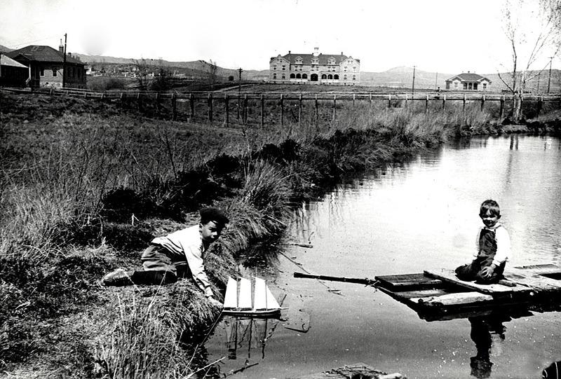 University Pond, 1905