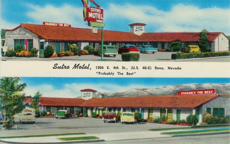 Sutro Motel, 1950s