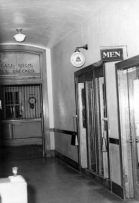 Phone booths, 1962