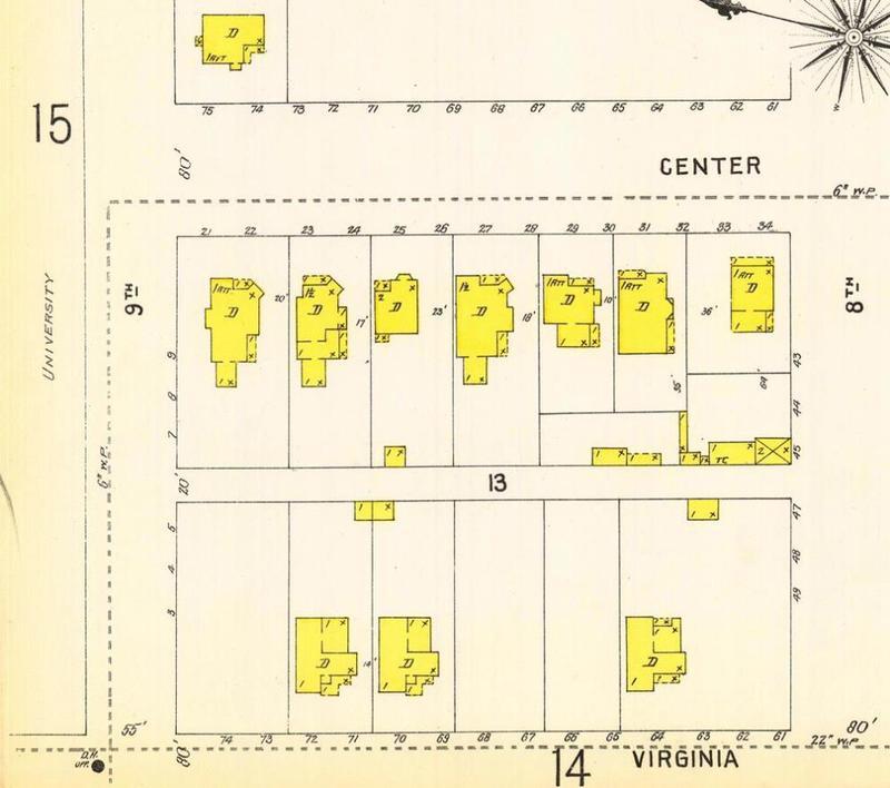 Sanborn map, 1899