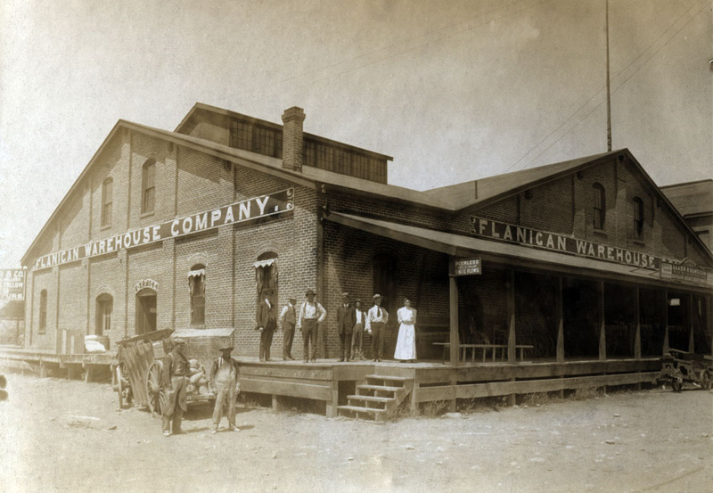 Flanigan Warehouse, ca. 1910