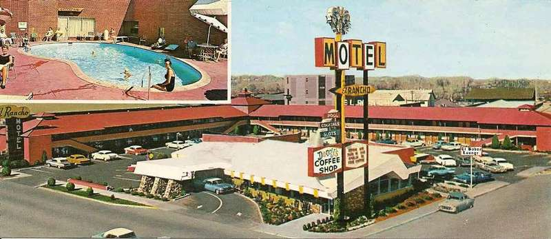 El Rancho Motel No. 2, ca. 1961