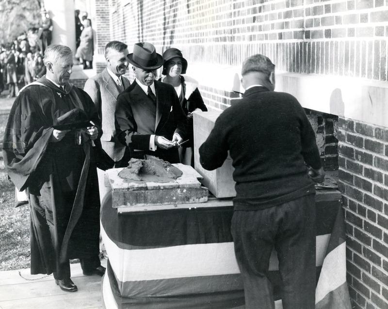 Cornerstone ceremony