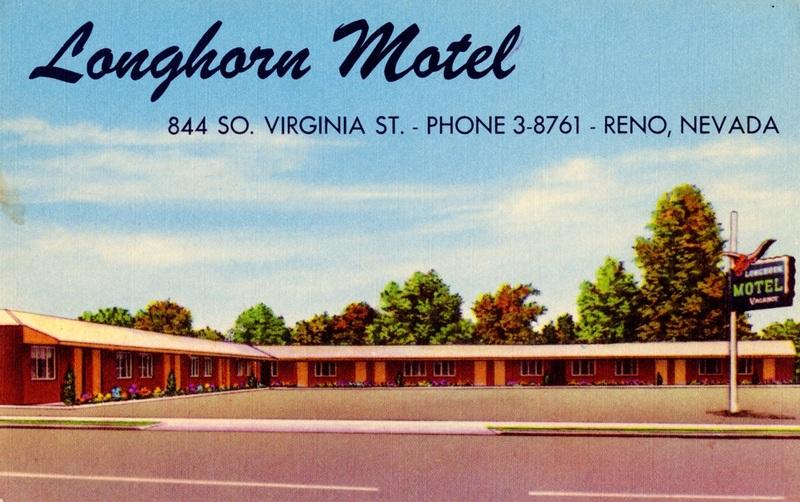 Motel postcard