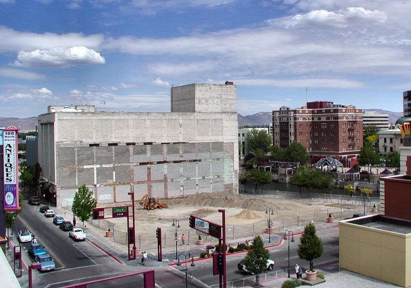 Former Elks Home site, 2004