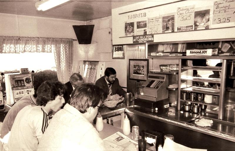 Inside Landrum's, 1986
