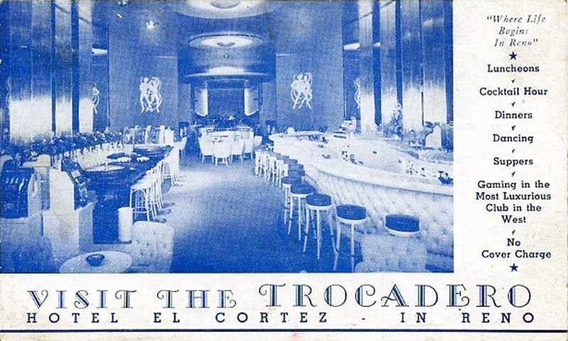 The Trocadero Room