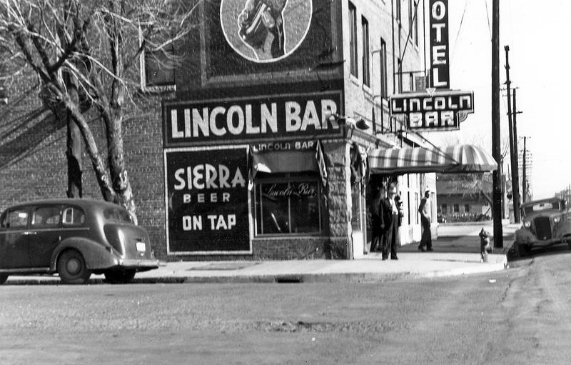Lincoln Bar, 1949