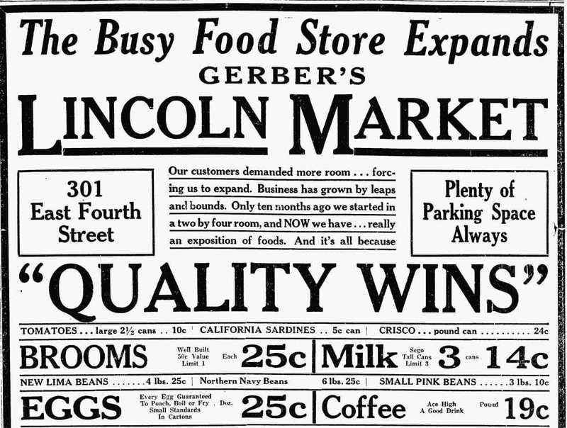 Lincoln Market, 1931