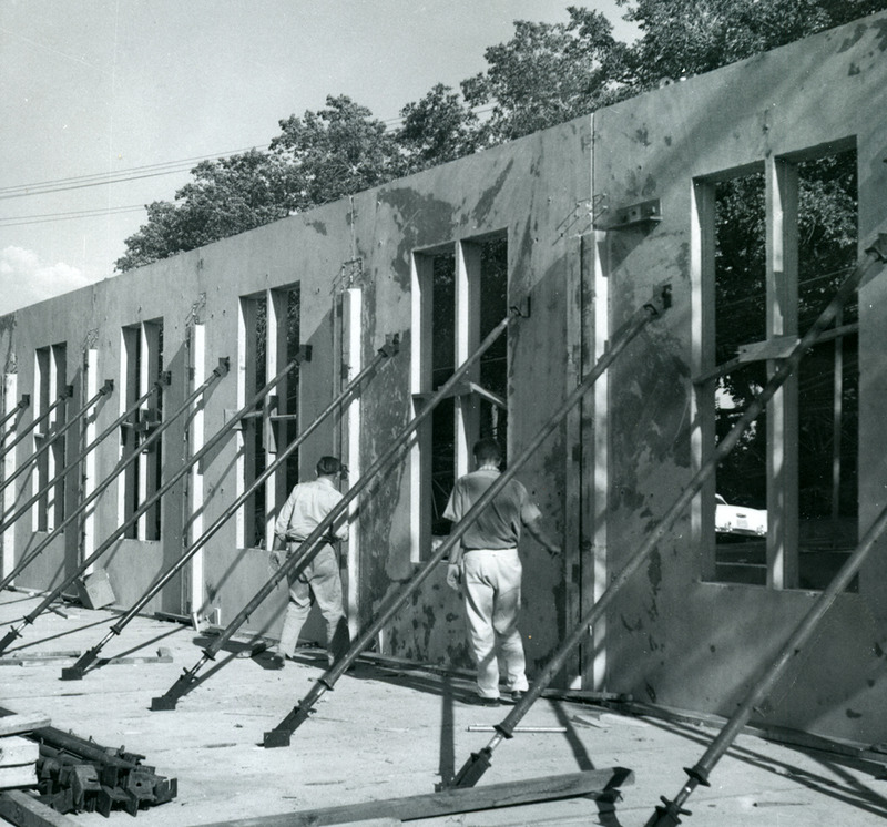 Parish House construction