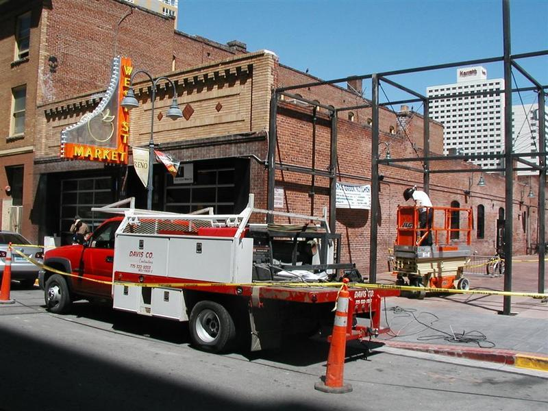 Under construction, 2008