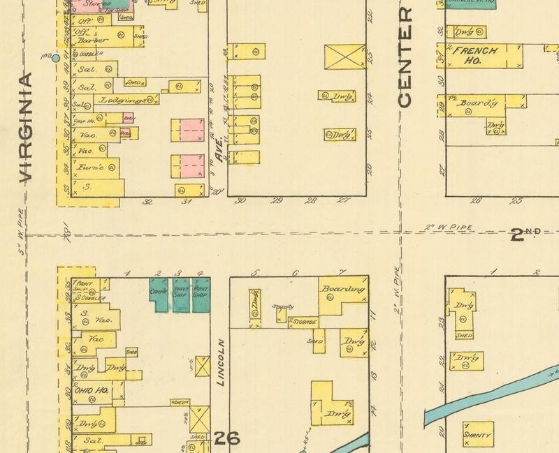 Lincoln Avenue, 1885