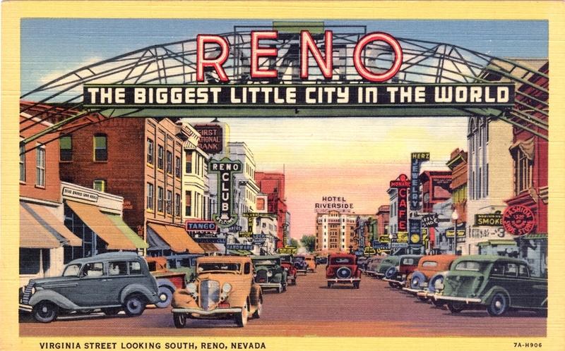 Reno icon, 1930s